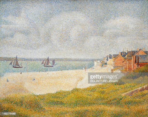 View of Crotoy by Georges Seurat
