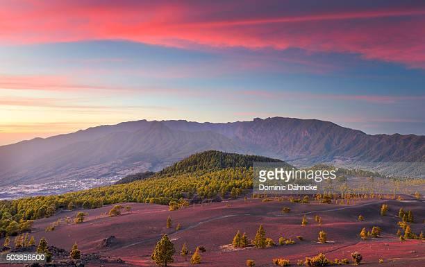 View of 'Cumbre Nueva' and 'Caldera de Taburiente' National Park (La Palma island. Canaries. Spain)