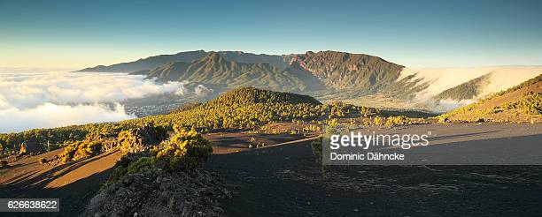 View of 'Cumbre Nueva' mountains (La Palma island. Canaries. Spain)