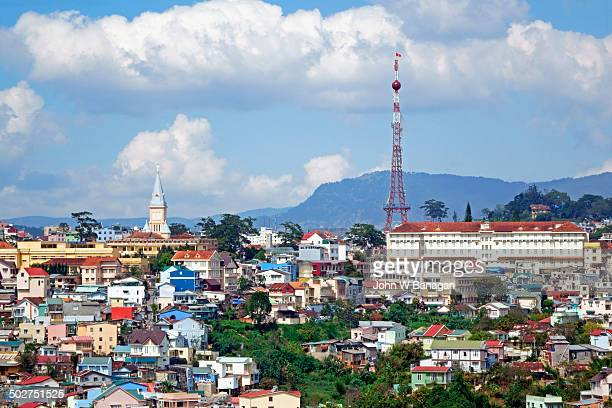 View of Da Lat city,  Vietnam