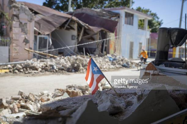 A view of damages at Guanica town after 64magnitude earthquake hit Puerto Rico on January 7 2020