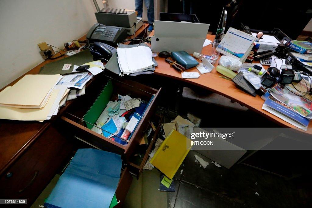 NICARAGUA-UNREST-NGO-RAID : News Photo