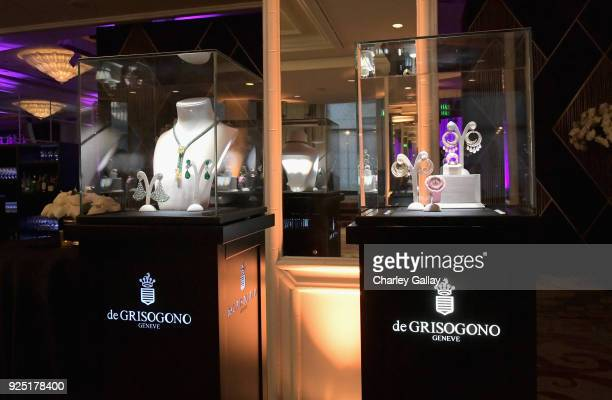 A view of de Grisogono jewelry during WCRF's 'An Unforgettable Evening' Presented by Saks Fifth Avenue on February 27 2018 in Beverly Hills California
