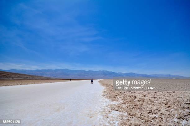 View of Death Valley Desert, California