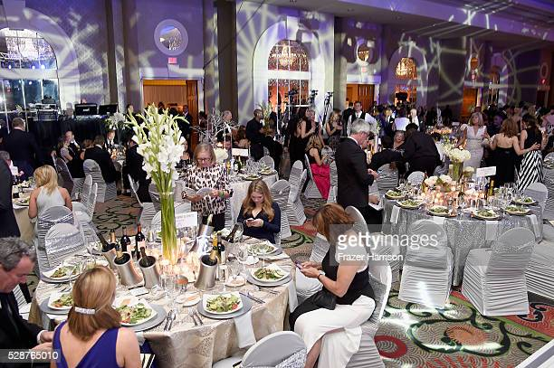 View of decor during the Unbridled Eve Gala during the 142nd Kentucky Derby on May 6 2016 in Louisville Kentucky