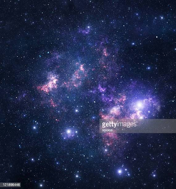View of deep space or a starry sky