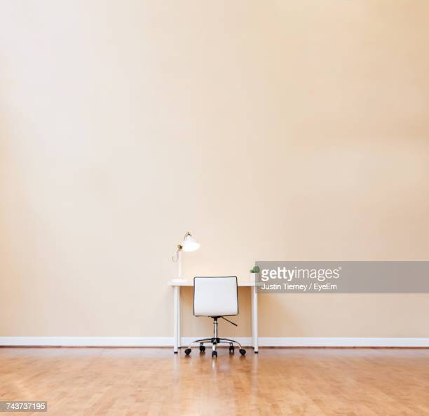 View Of Desk And Chair