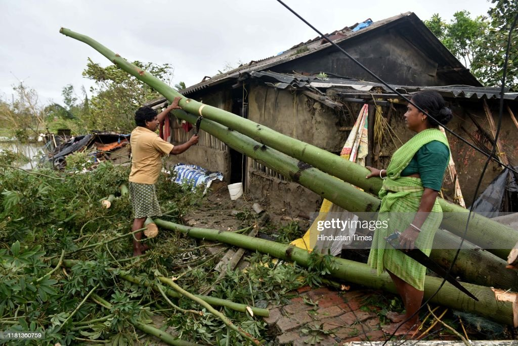 Cyclone Bulbul: 7 Killed, Normal Life Disrupted In West Bengal : News Photo