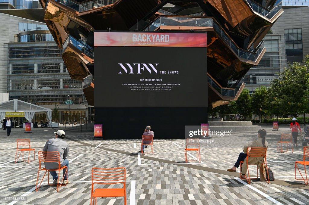 Seen Around - September 15, 2020 - New York Fashion Week: The Shows : News Photo