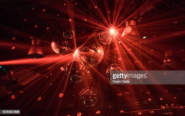 A view of disco balls at 'Charliewood An Exhibition Of Transgressive Movement' at Cedar Lake on November 28 2016 in New York City