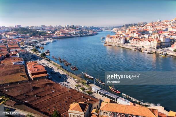 View of Douro River, Porto, Portugal