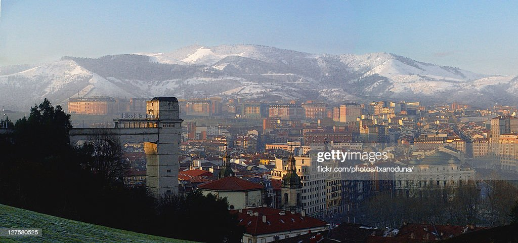 View of downtown Bilbao : Stock Photo