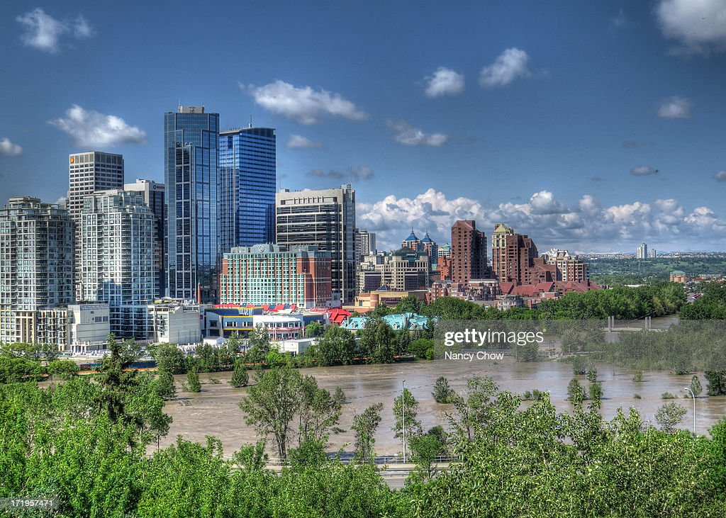 Calgary----2013 Flood : News Photo