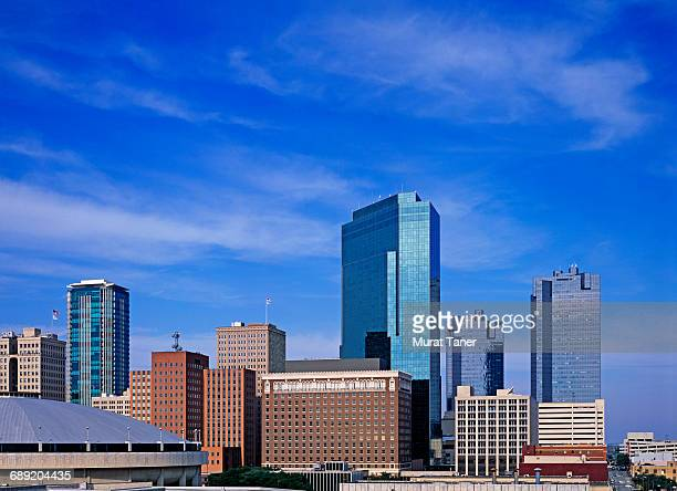 view of downtown fort worth - フォートワース ストックフォトと画像