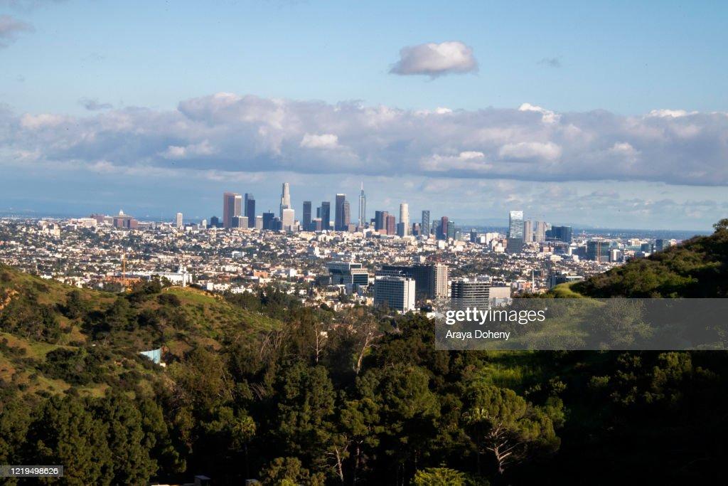 Daily Life In Los Angeles Amid Coronavirus Outbreak : News Photo