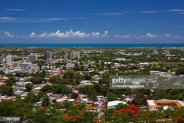 View of downtown Ponce Puerto Rico
