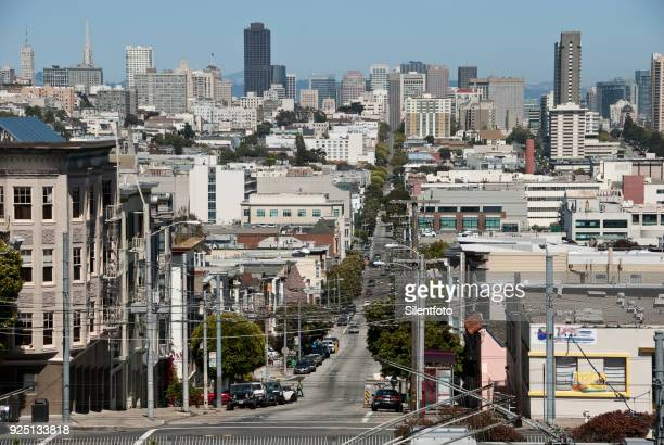 View of Downtown San Francisco From Laurel Heights