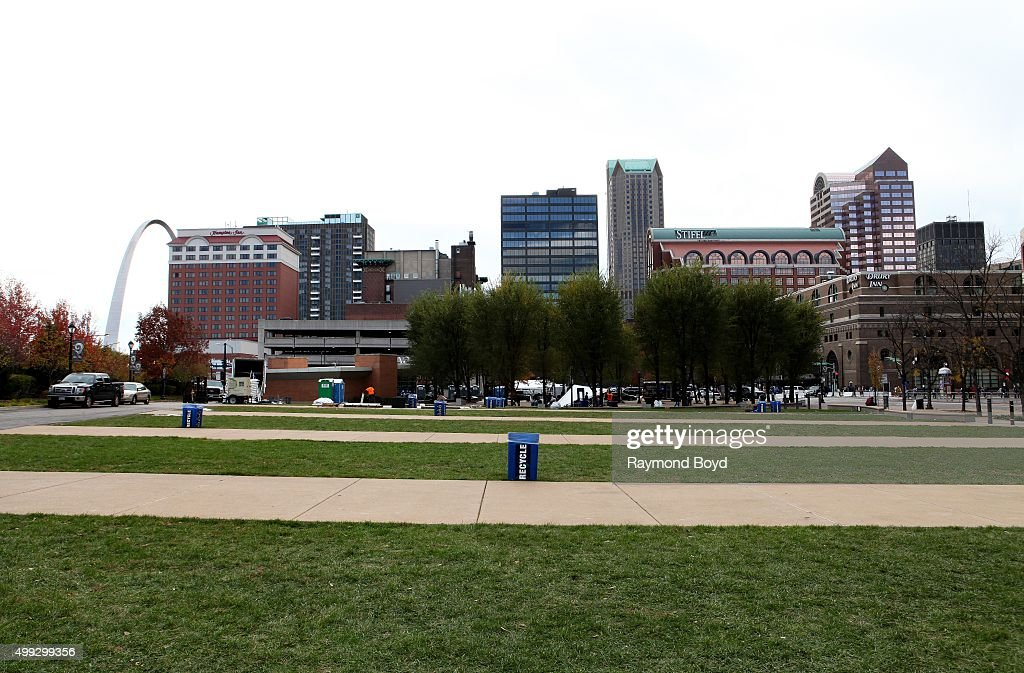 St. Louis Cityscapes And City Views : News Photo