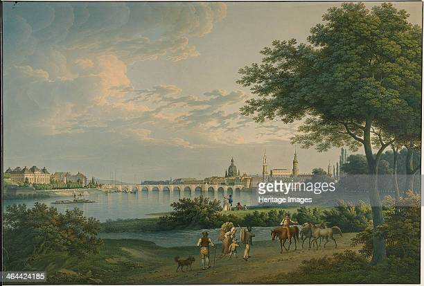 View of Dresden 1810 Found in the collection of the J Paul Getty Museum Los Angeles