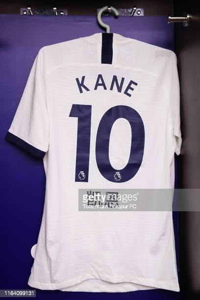 View of dressing room of Tottenham Hotspur and new jersey of NIKE before the International Champions Cup match between Tottenham Hotspur and...