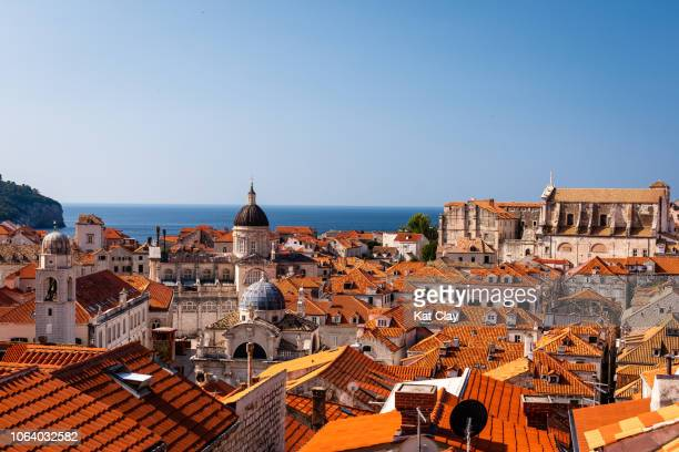 View of Dubrovnik Old Town, Croatia