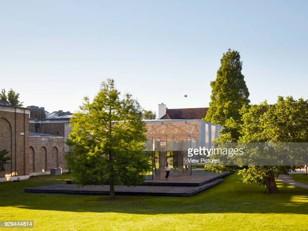 View of Dulwich Picture Gallery's Summer Pavilion next to John Soane's Gallery Dulwich Picture Gallery Pavilion London United Kingdom Architect IF_DO...
