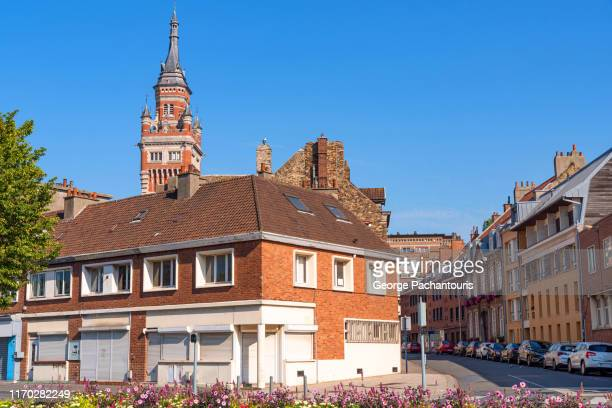 view of dunkirk, france - dunkirk evacuation stock pictures, royalty-free photos & images