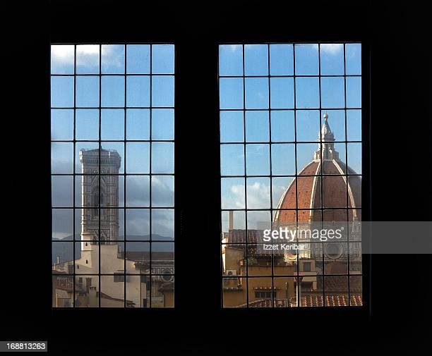 View of Duomo from Palazzo Vecchio window