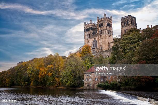 A view of Durham Cathedral and the River Wear