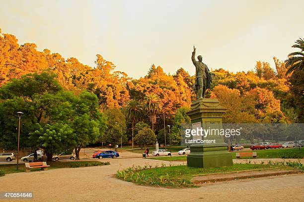 View of Ecuador Park on April 15th 2015 in Concepcion Chile Concepcion is one of the eight host cities of the next Copa America Chile 2015 which will...