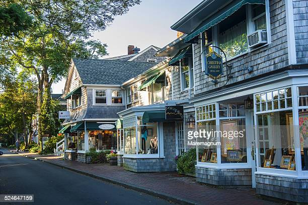 view of edgartown - martha's_vineyard stock pictures, royalty-free photos & images