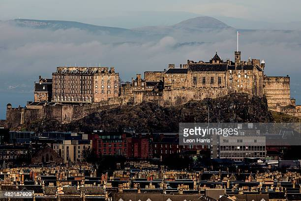 View of Edinburgh Castle from Blackford Hill