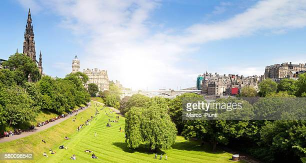 View of Edinburgh Panorama