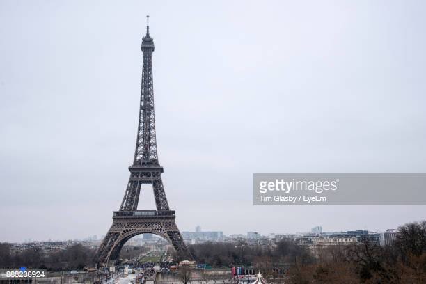 View Of Eiffel Tower Against Sky