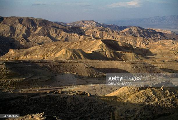 View of Eilat Mountain Reserve Israel
