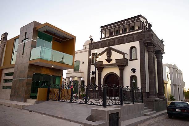 View Of Elaborate Tombs In The Jardines Del Humaya