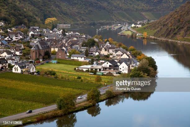 View of Elenz-Polterstorf,near Beilstein , Moselle valley, Rhineland-Palatinate, Germany, Europe.
