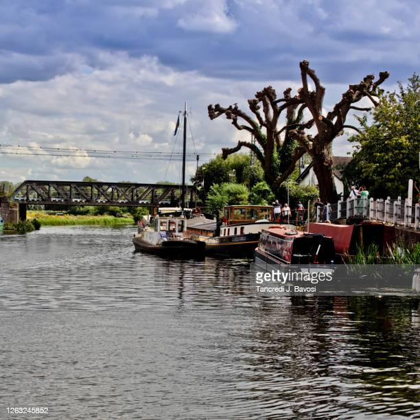 view of ely river - bavosi stock pictures, royalty-free photos & images