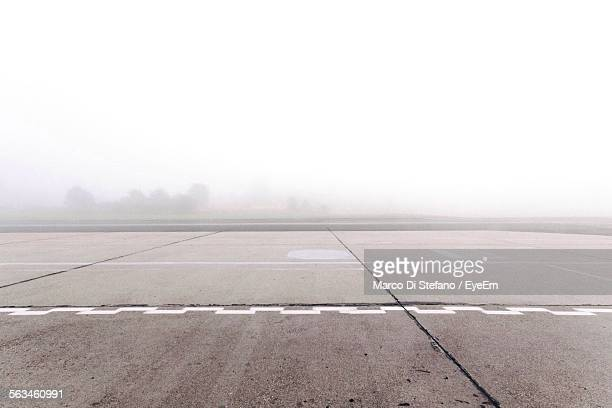view of empty helipad - helipad stock photos and pictures