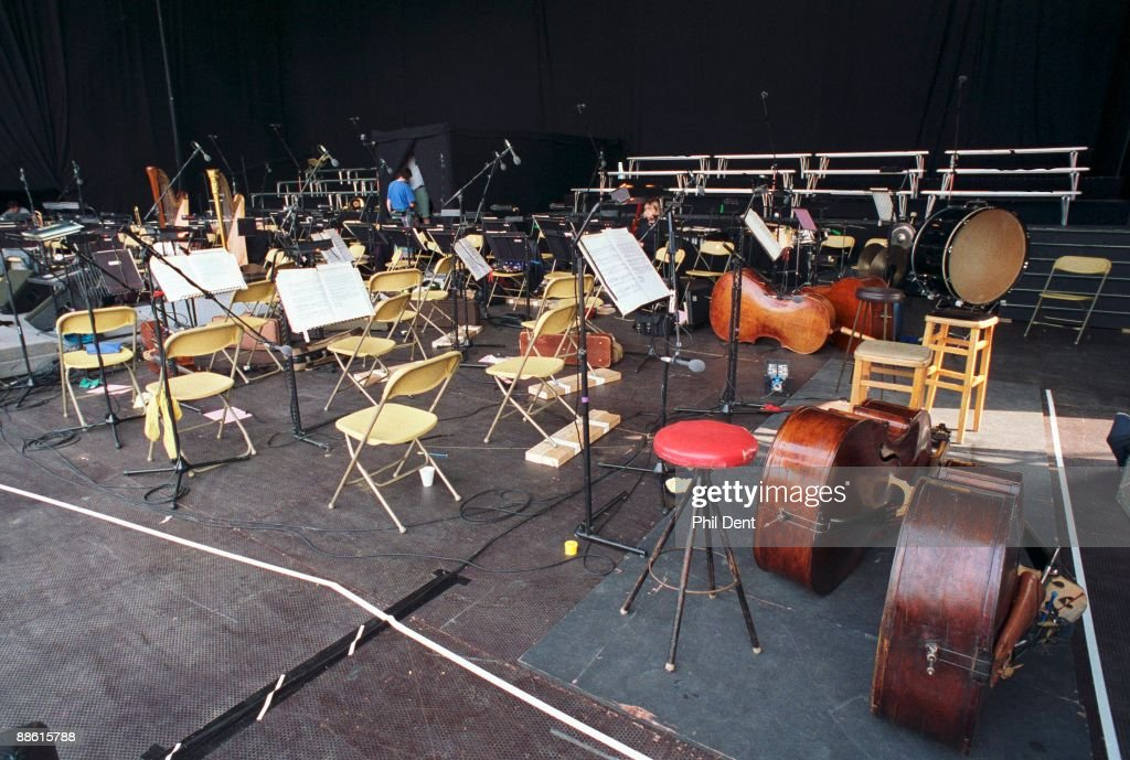 Orchestra Stage News Photo