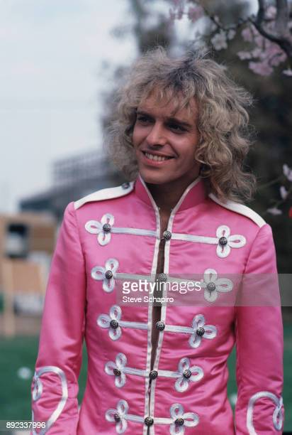 View of English musician Peter Frampton in a scene from the film 'Sgt Pepper's Lonely Hearts Club Band' Los Angeles California 1977