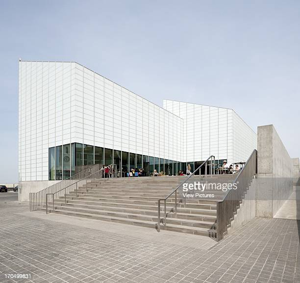 View of entrance steps Turner Contemporary Gallery Art Gallery Europe United Kingdom Kent David Chipperfield Architects Ltd