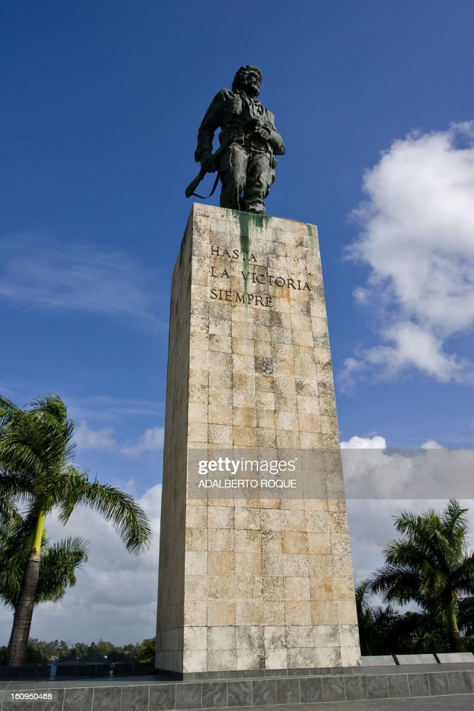 View of Ernesto Che Guevara monument in Santa Clara revolution square, in Havana on December 25, 2009.