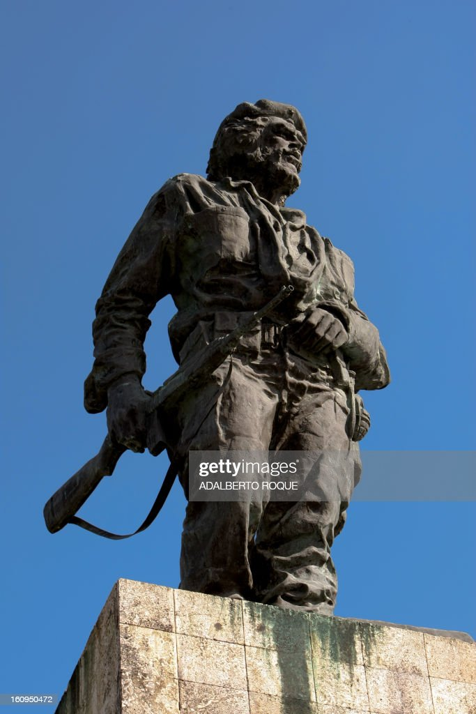View of Ernesto Che Guevara monument in Santa Clara revolution square, in Havana, on December 25, 2009.