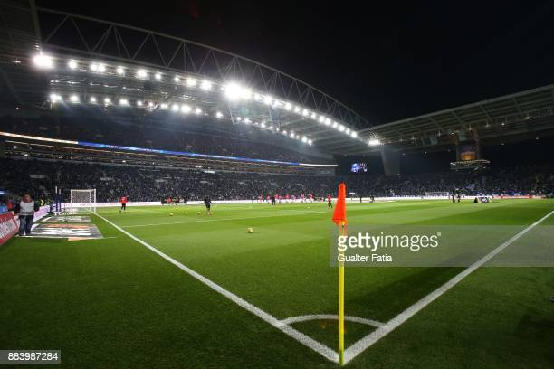View of Estadio do Dragao before the start of the Primeira Liga match between FC Porto and SL Benfica at Estadio do Dragao on December 1 2017 in...