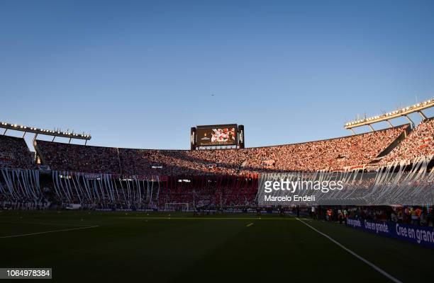 View of Estadio Monumental Antonio Vespucio Liberti before the second leg final match of Copa CONMEBOL Libertadores 2018 between River Plate and Boca...