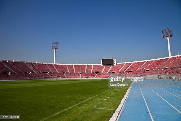 View of Estadio Nacional de Santiago, ahead of Copa America Chile 2015 on April 23, 2015 in Santiago, Chile.
