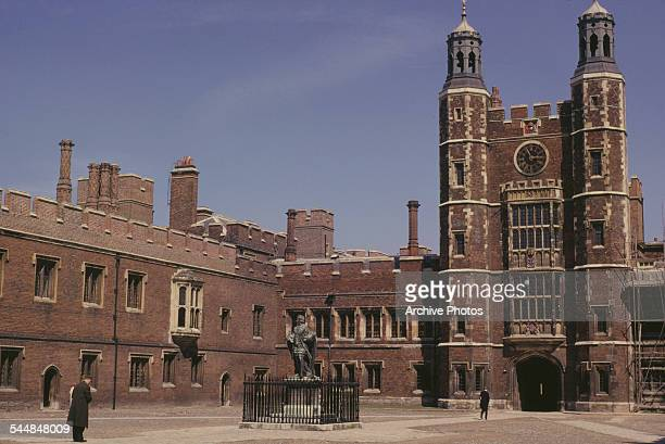 A view of Eton College Eton Berkshire June 1962