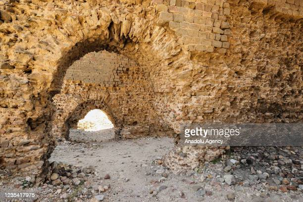 View of excavation works carried out by German Archaeological Institute and Berlin Technical University Architecture Institute, Department of...
