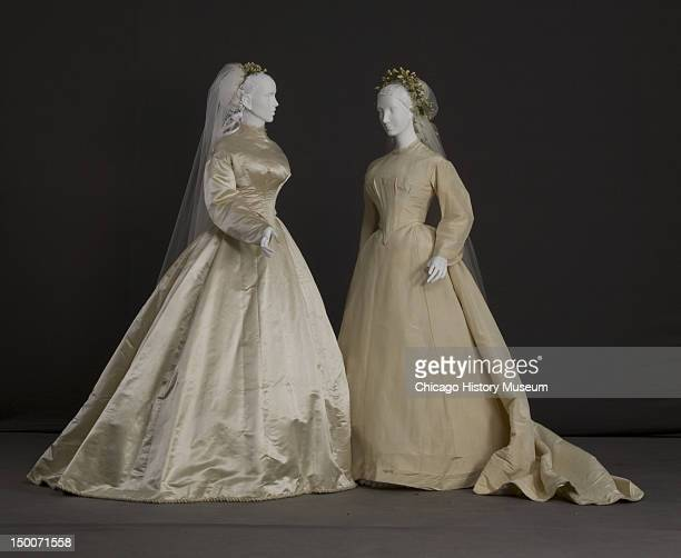 60 Hochwertige Silk Taffeta Wedding Dress Bilder Und Fotos Getty